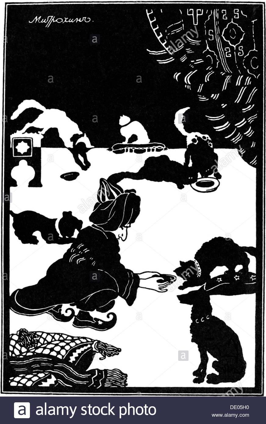 We recall the fairy tales of Hauf: Little Muck (summary)