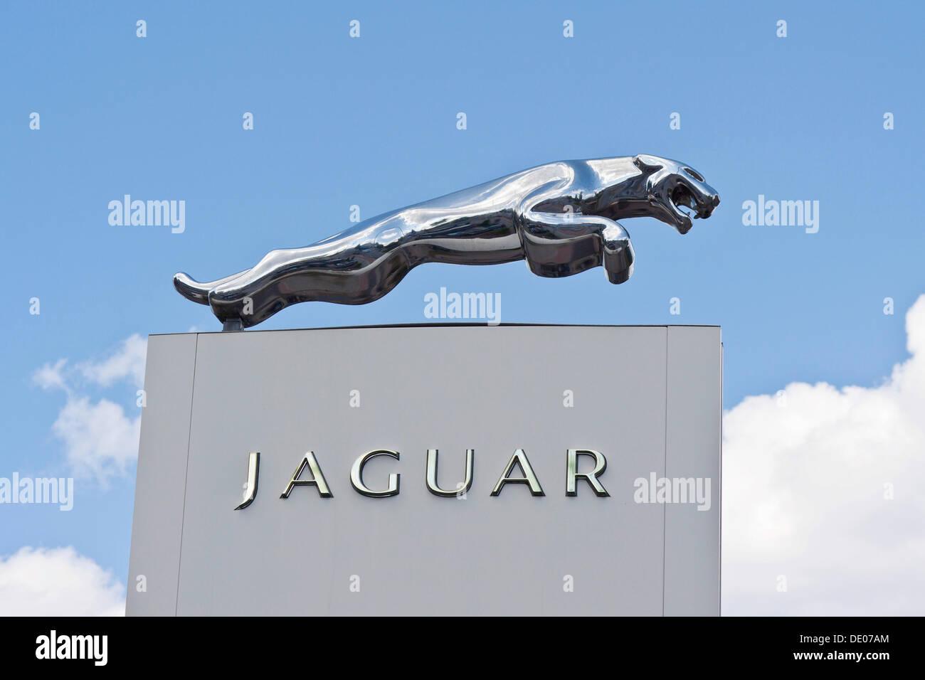 Jaguar Cars Ltd A British Luxury And Sports Car Manufacturer Logo