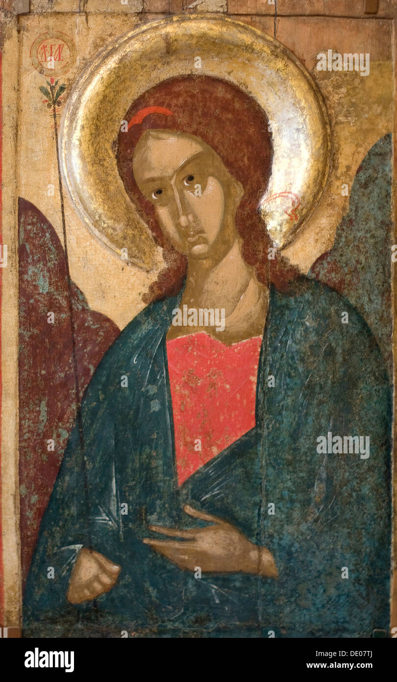 'The Archangel Gabriel', early 15th century. - Stock Image