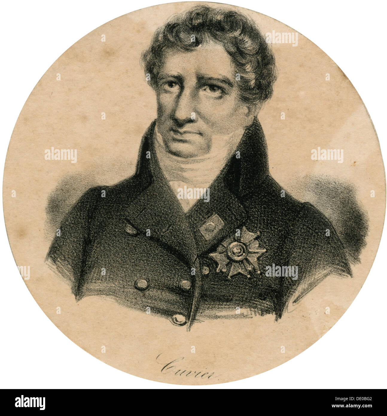 Georges Cuvier, 19th century French zoologist and paleontologist ...