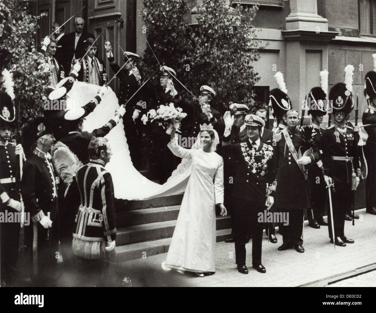 Heiraten In Schweden: The Wedding Of Silvia Sommerlath And King Carl XVI Gustaf