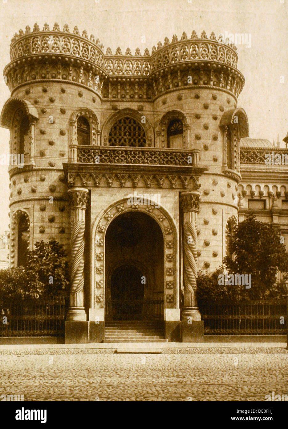 The Morozov House, Vozdvizhenka Street, Moscow, Russia, early 20th century. - Stock Image