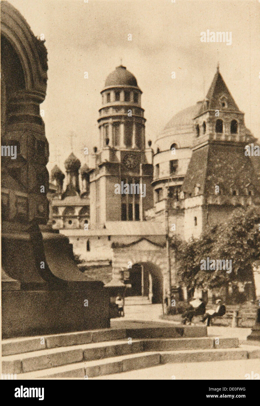 The Elias Gates, Moscow, USSR, 1920s. - Stock Image