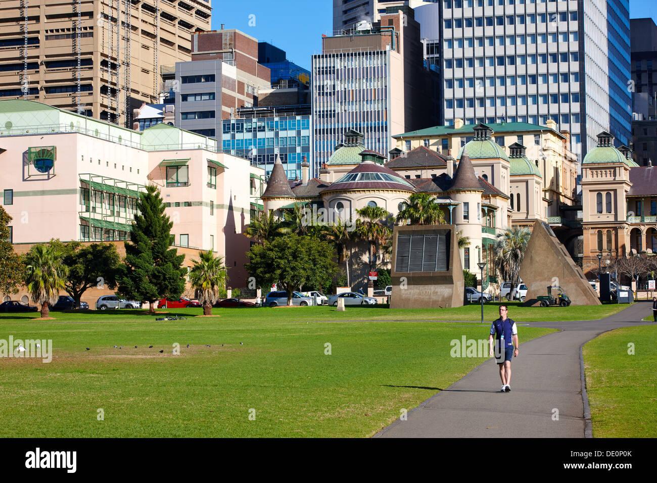 The Domain, Sydney, Australia - Stock Image