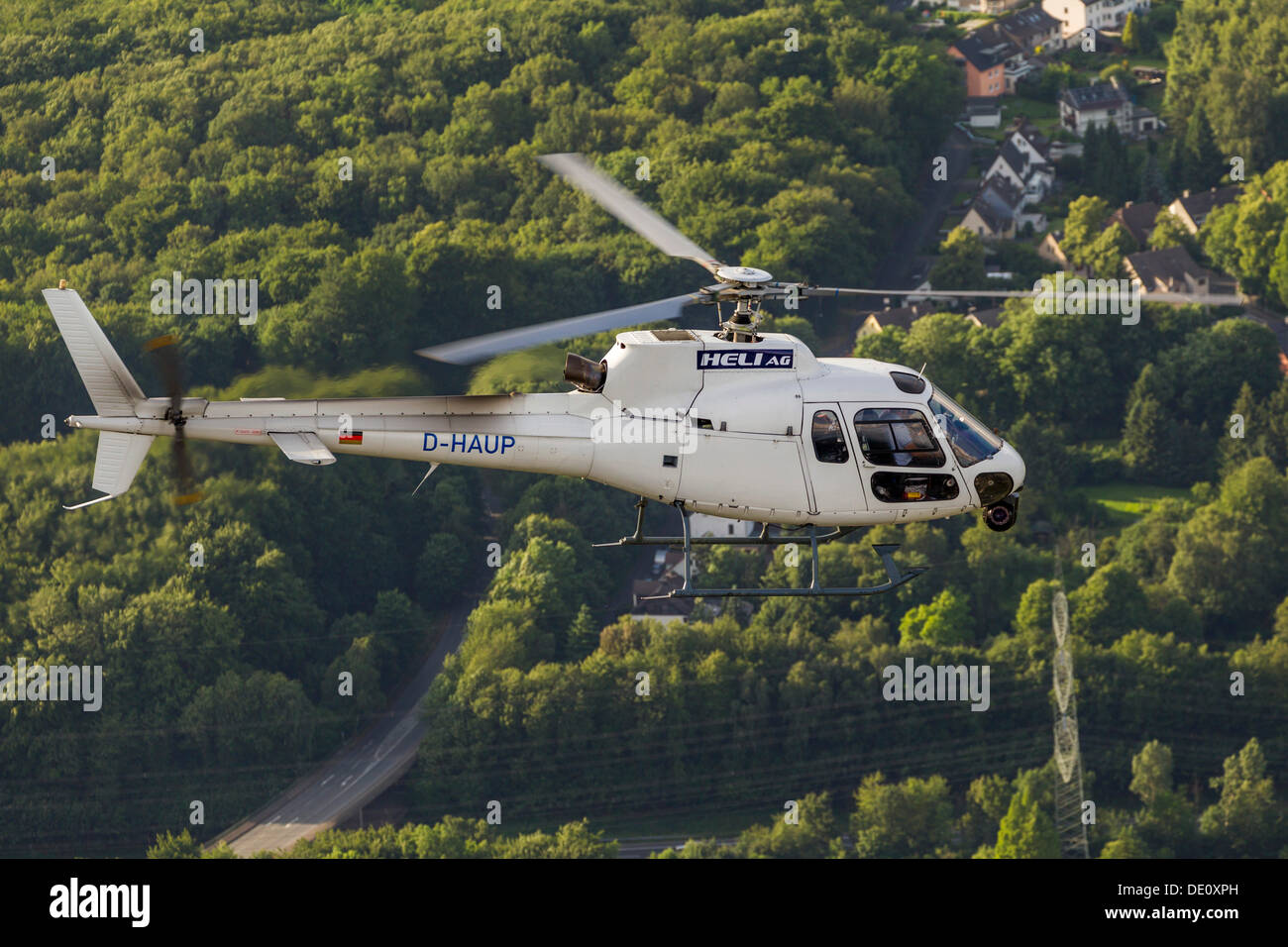 Aerial View Camera Helicopter With Video Heli AG High Resolution Gyro Stabilised HD System Witten Ruhr Area