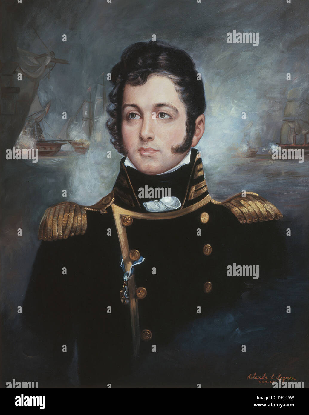 New Photo U.S War of 1812-6 Sizes! Navy Commodore Oliver Hazard Perry