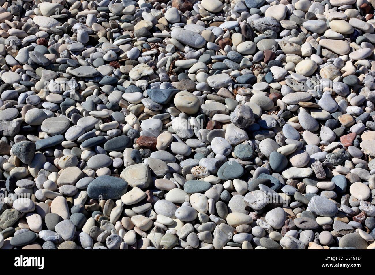 Stones, background, large pebbles - Stock Image