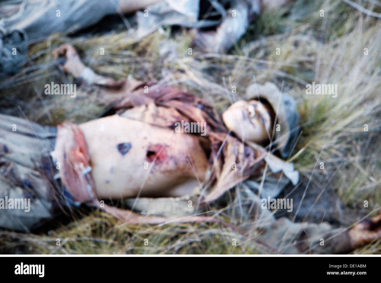Vietnam War 1957 - 1975, killed Vietnamese fighter, South Vietnam, 1965, communist, communists, dead body, dead bodies, corpse, corpses, death, dead, kill, killing, South-East Asia, South East Asia, Southeast Asia, Far East, Viet Nam conflict, Viet Nam, Vietnam, war, wars, conflict, conflicts, 1960s, 60s, 20th century, people, man, men, male, historic, historical, Additional-Rights-Clearences-NA - Stock Image