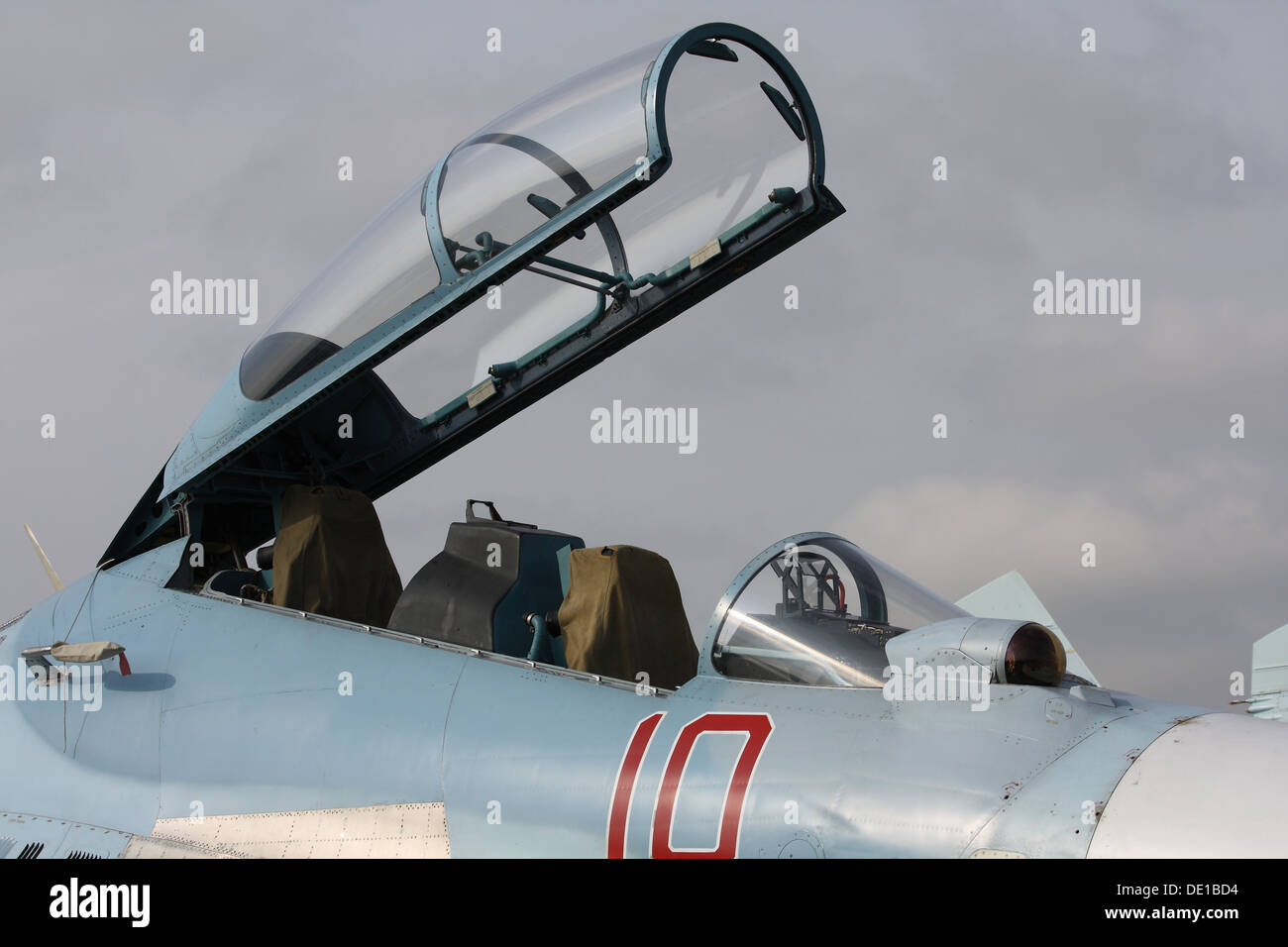 Fighter Su-30M2 Flanker-C - Stock Image