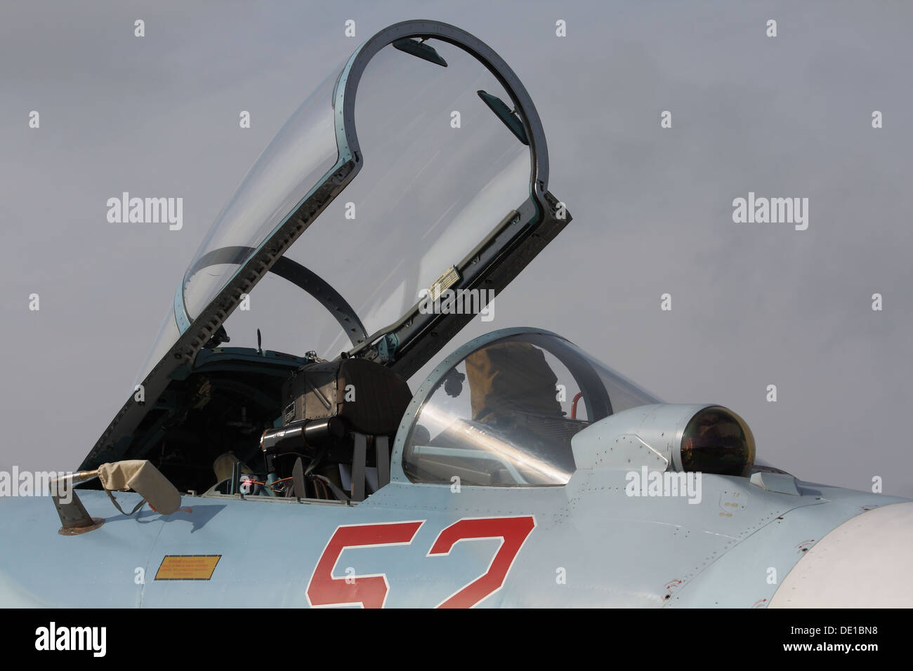 Fighter Su-27SM Flanker - Stock Image