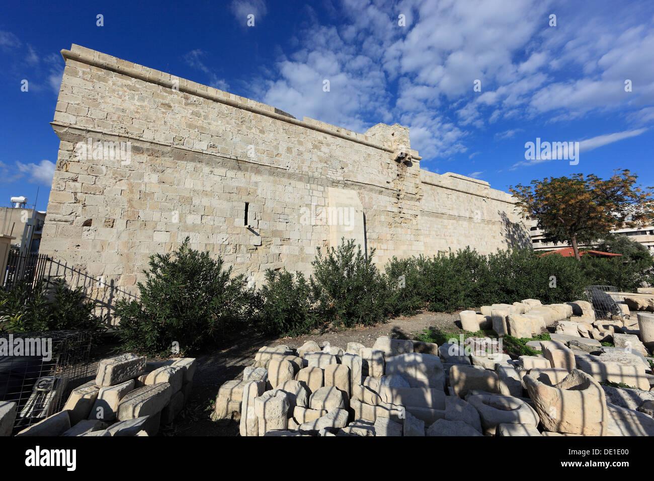 Cyprus, Limassol, Lemesos, Castle, Fort - Stock Image