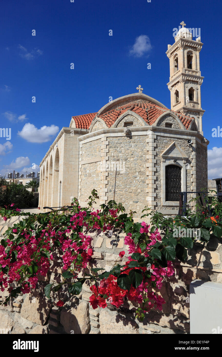 Cyprus, Perivolia, place at Kiti, local church - Stock Image