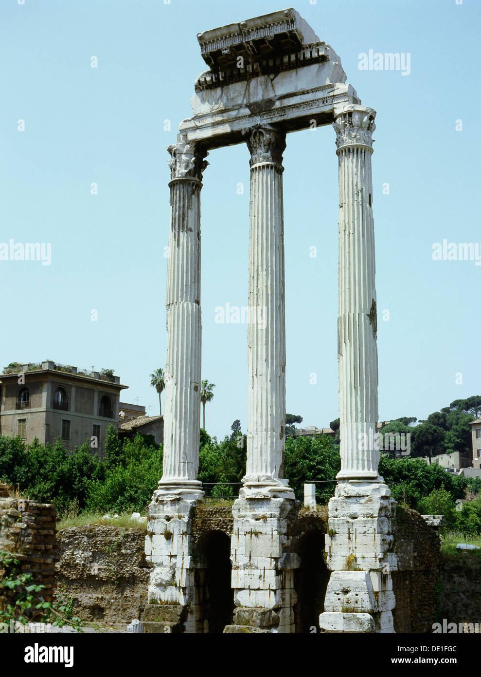 The Roman Forum. - Stock Image