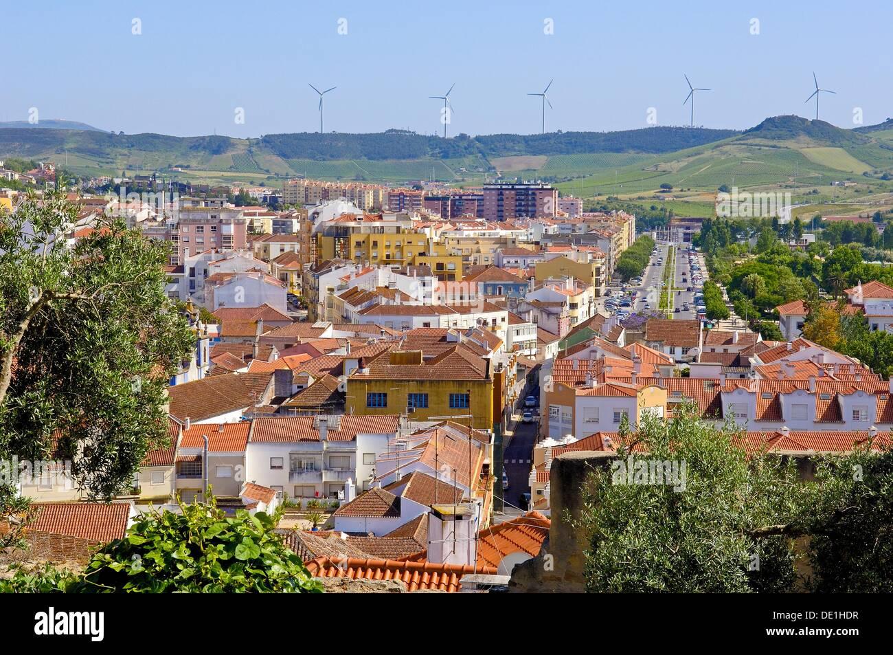 Torres Vedras, Lisbon distric, Estremadura, Portugal. - Stock Image