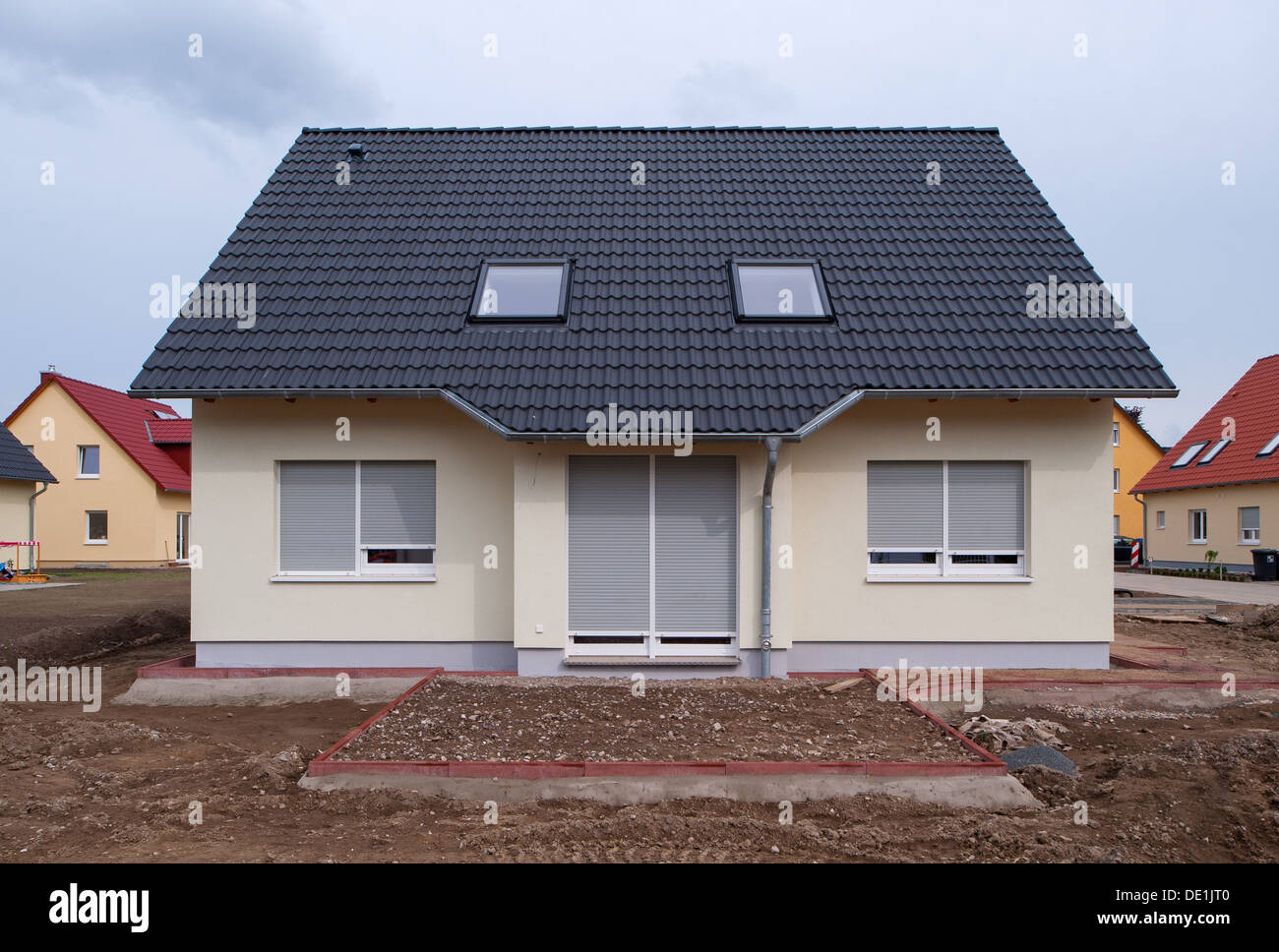 Berlin, Germany, new construction of single-family homes in Berlin ...
