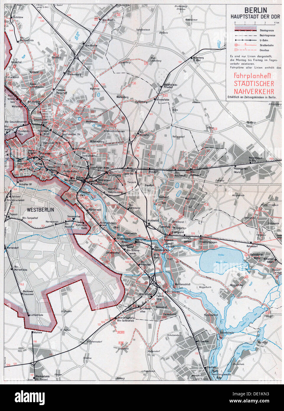 geography travel germany transport transportation outline map of the berlin lines of the german reichsbahn 1975 20th