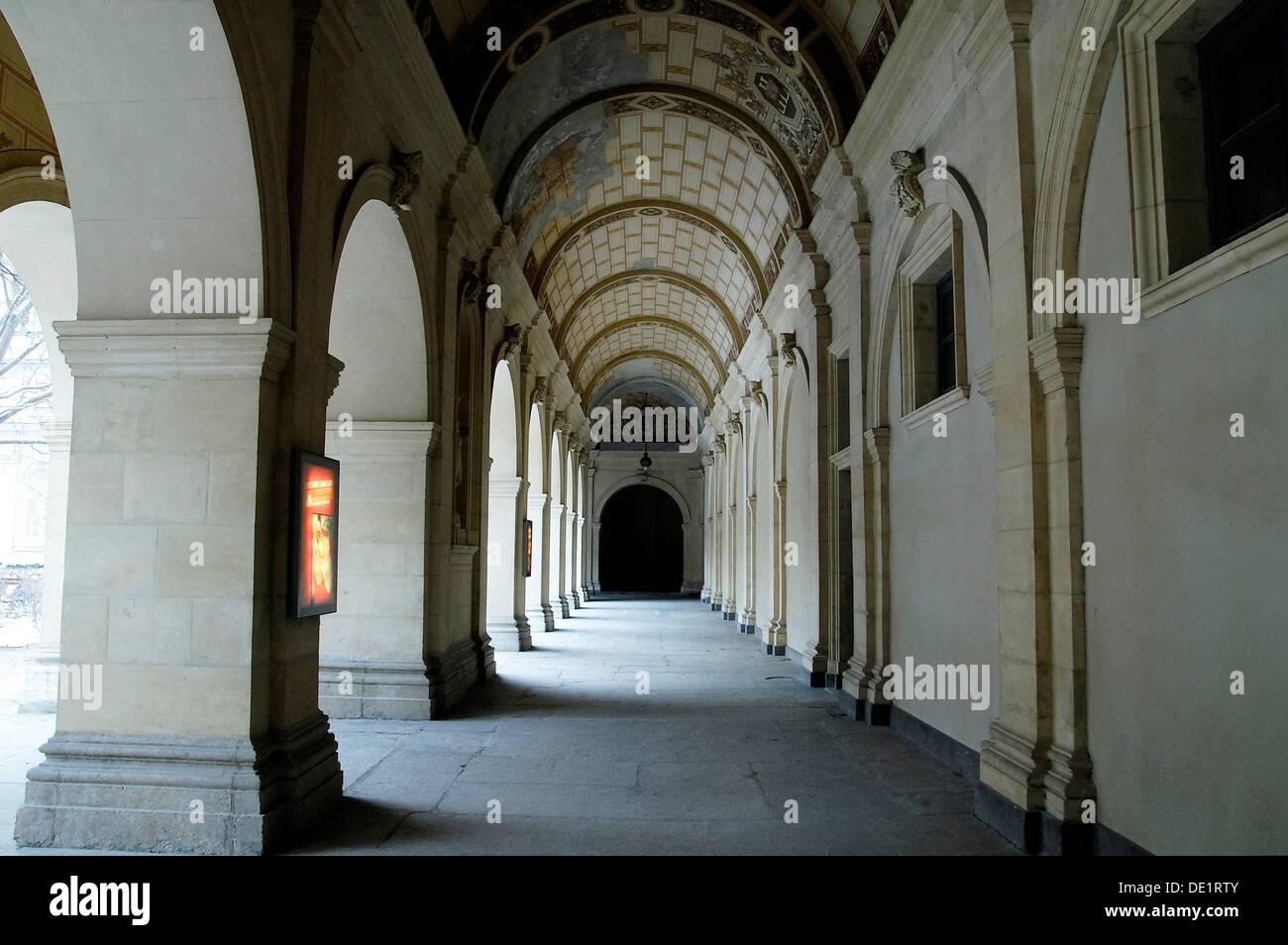Museum of Fine Arts, Lyon, Rhône-Alpes, France Stock Photo