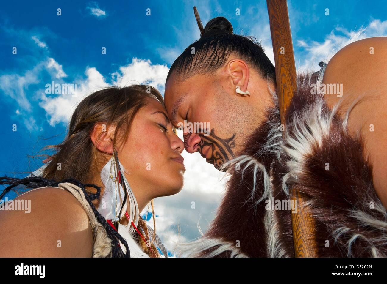 Maori Greeting Stock Photos Maori Greeting Stock Images Alamy