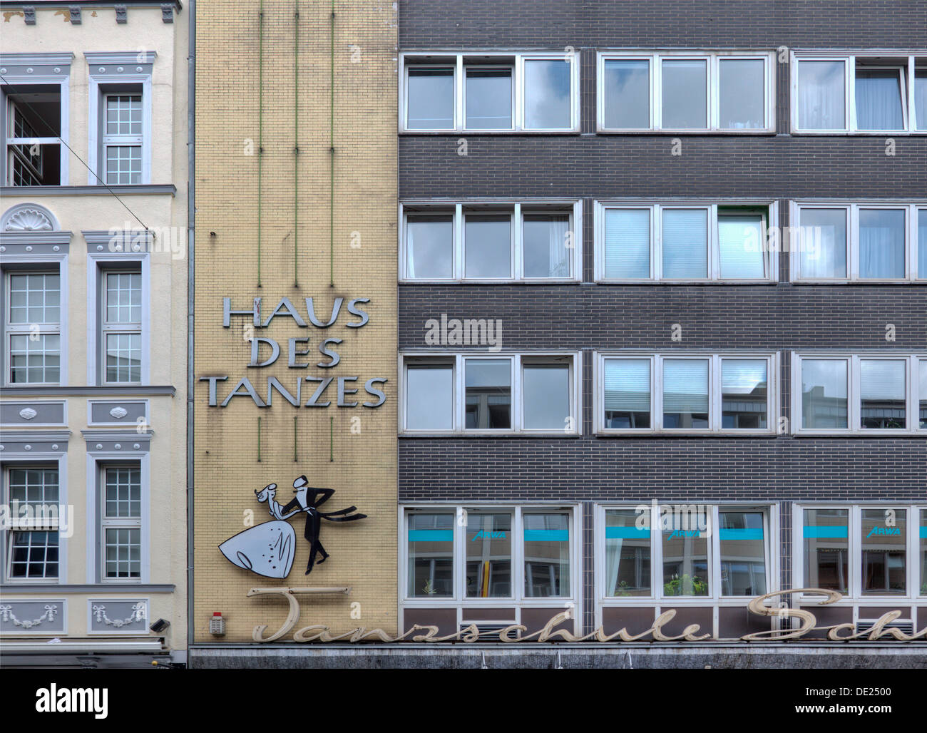 The 'Haus Des Tanzes' in Köln, Germany - Stock Image