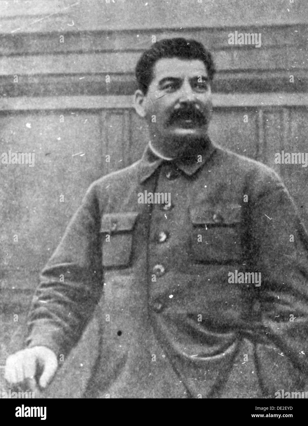 Josef Stalin, Georgian-born Soviet communist revolutionary and leader, 1930s. - Stock Image