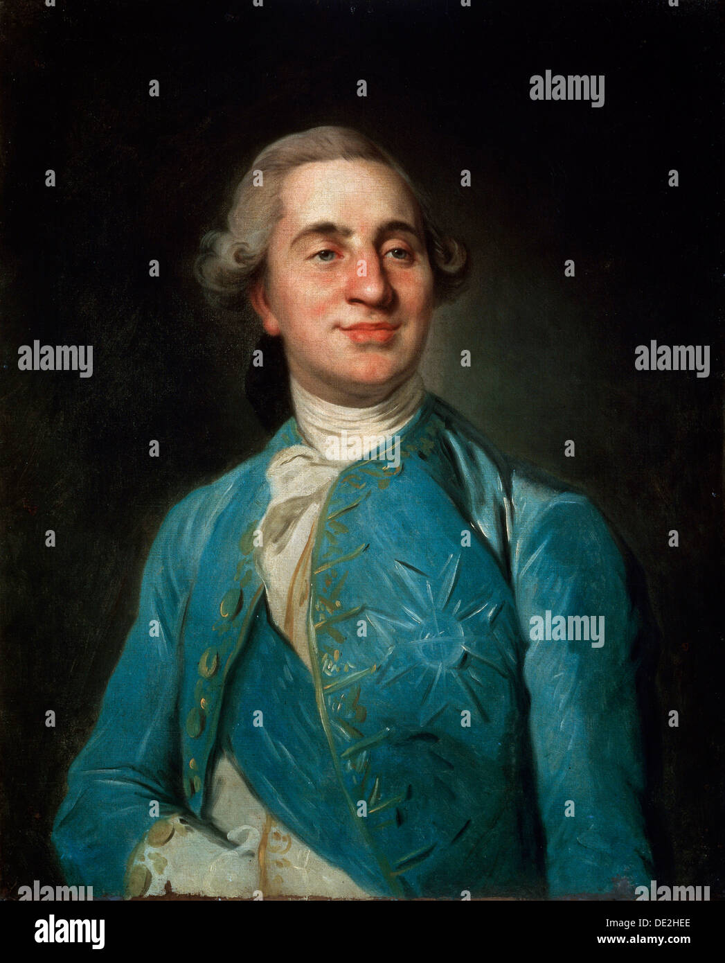 'Portrait of the King Louis XVI', 1770s. Artist: Joseph Siffred Duplessis - Stock Image