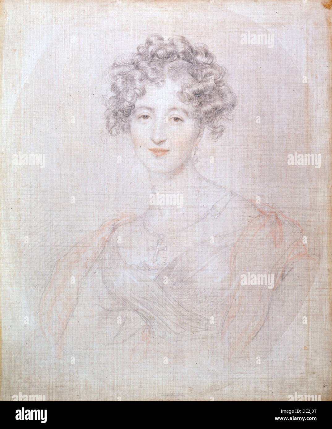'Portrait of Countess Elisabeth Vorontsova', 1821.  Artist: Thomas Lawrence - Stock Image