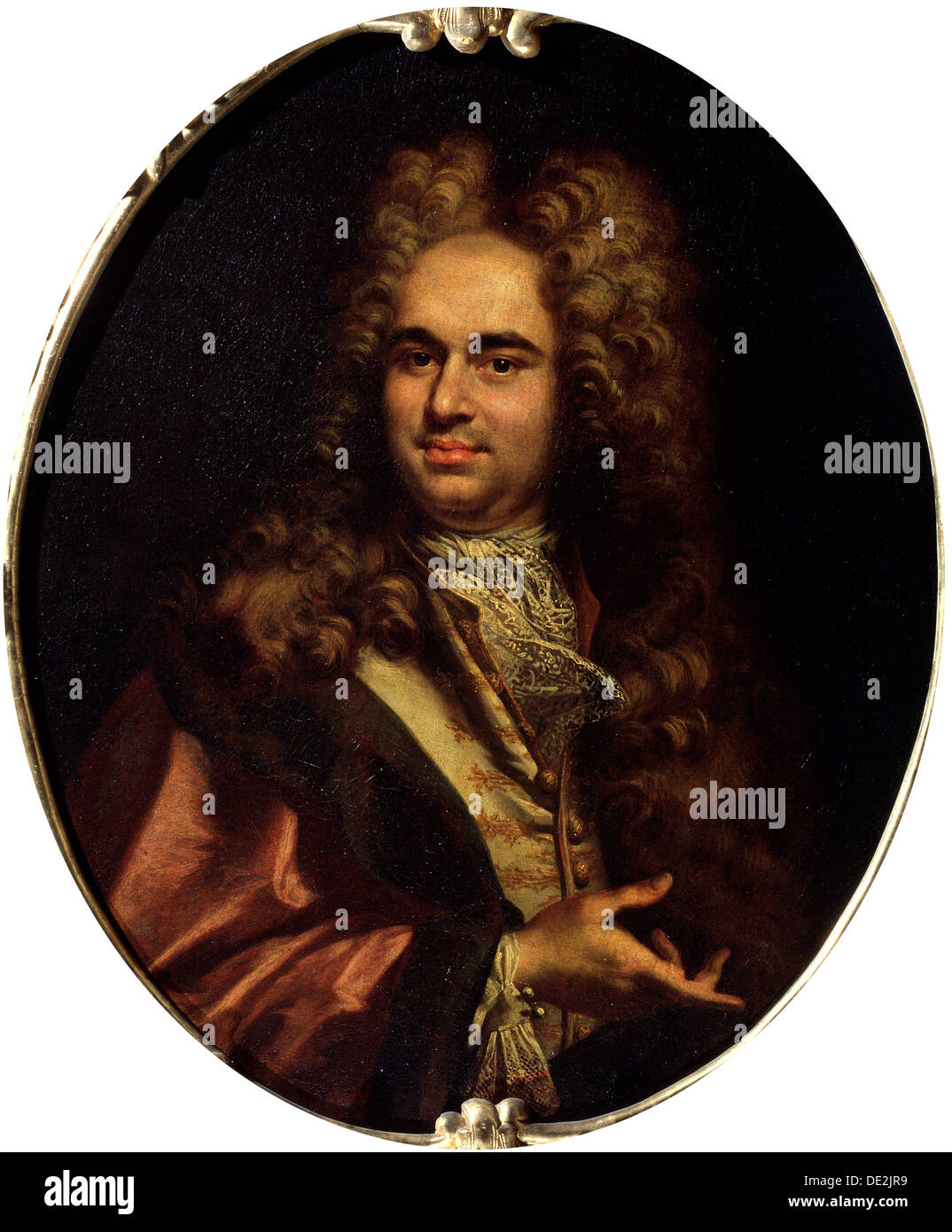 'Portrait of Robert Walpole, 1st Earl of Orford', early 18th century. Artist: French Master - Stock Image