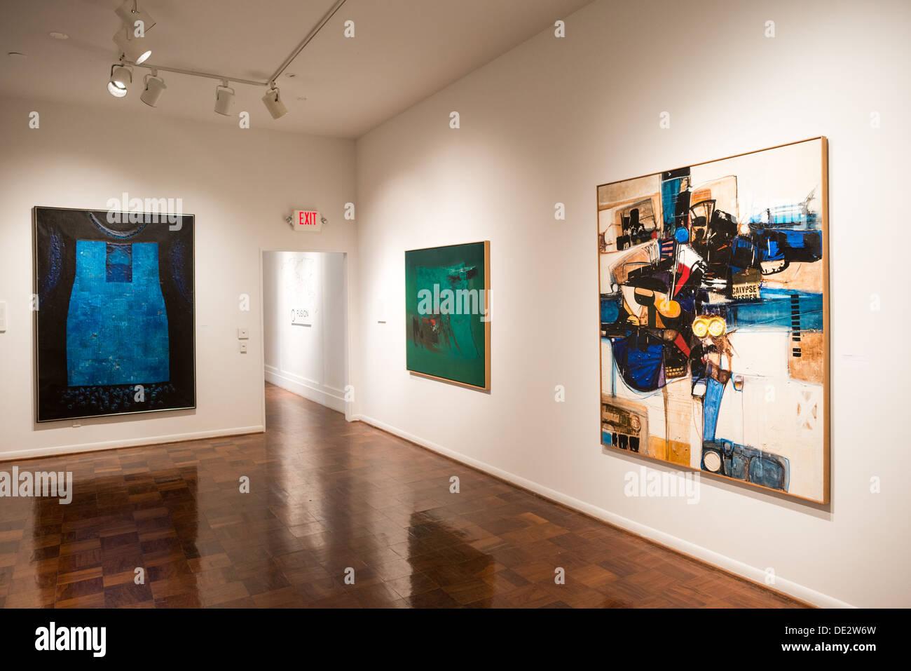 WASHINGTON DC, USA - Paintings by Kazuya Sakai (1927-2001) or Argentina