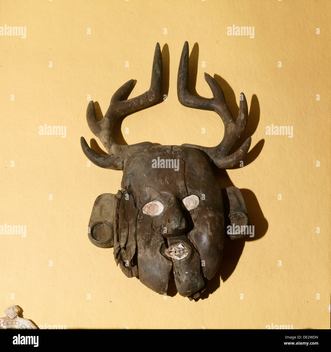 Mask with deer antlers Stock Photo: 60300177 - Alamy