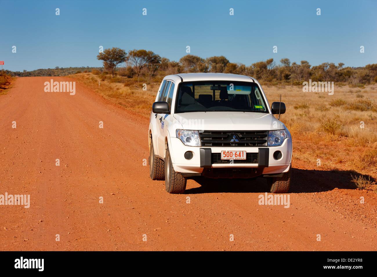 Mereenie Loop Road, outback, Norhtern Territories, Australia - Stock Image