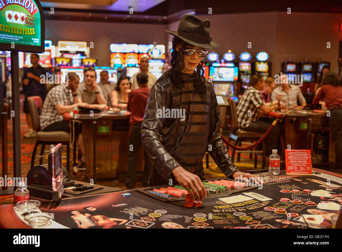Poker Dealer Stock Photos Poker Dealer Stock Images Alamy