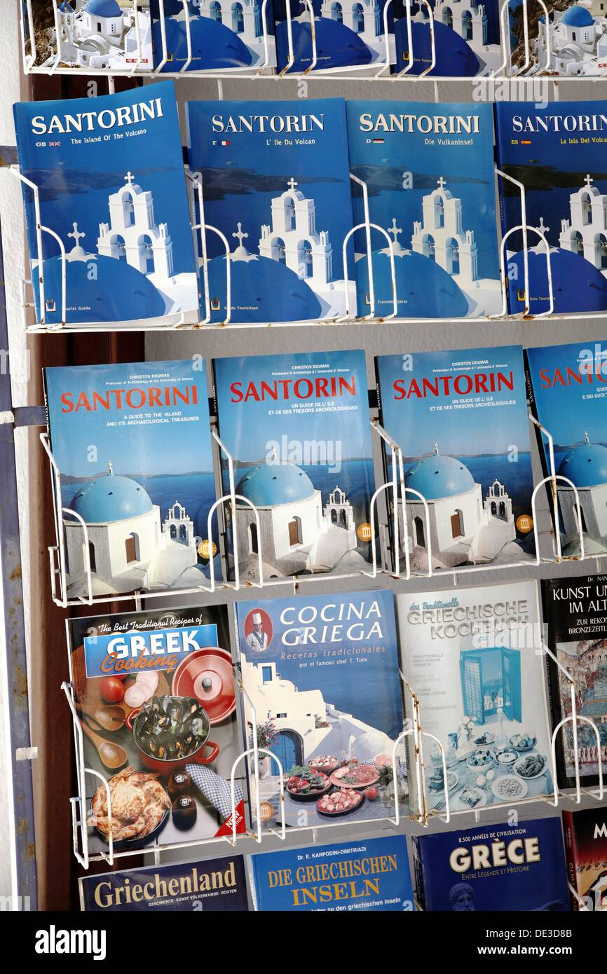Tourist Guide Books Displayed at a Tourist Souvenir Store fe7ef515446