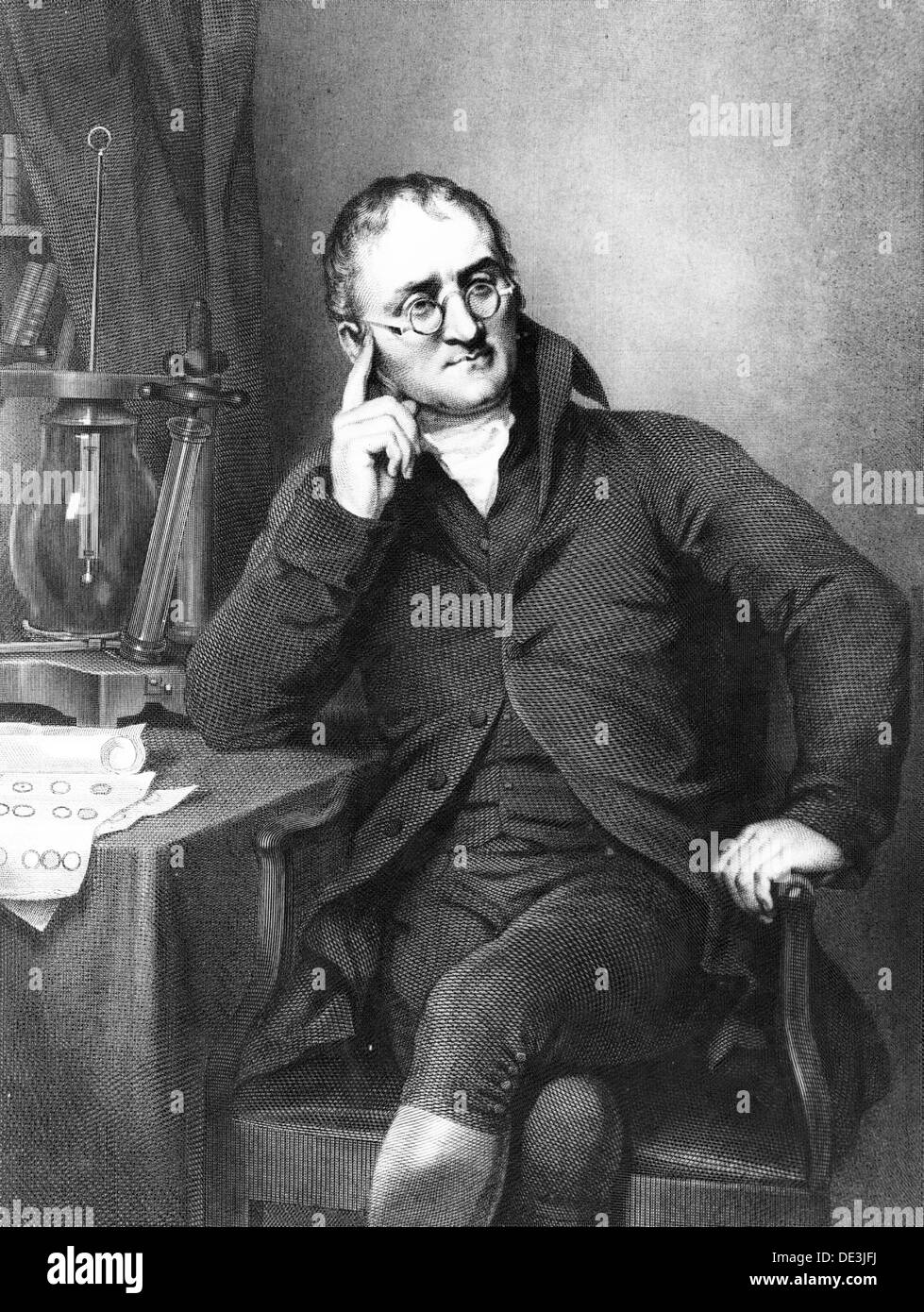JOHN DALTON (1766-1844) English scientist