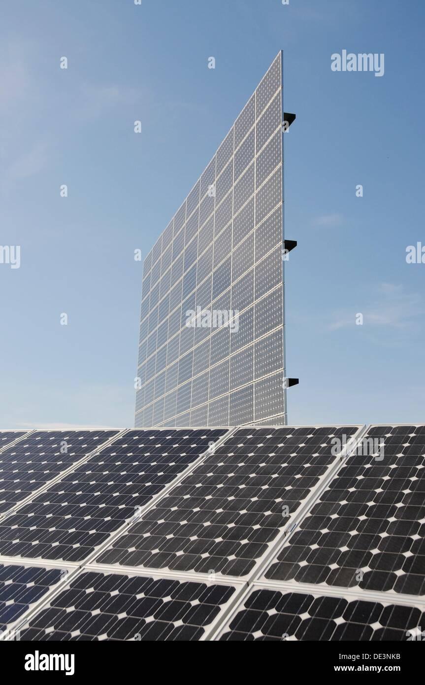 Solar Powerstation in Germany - Stock Image