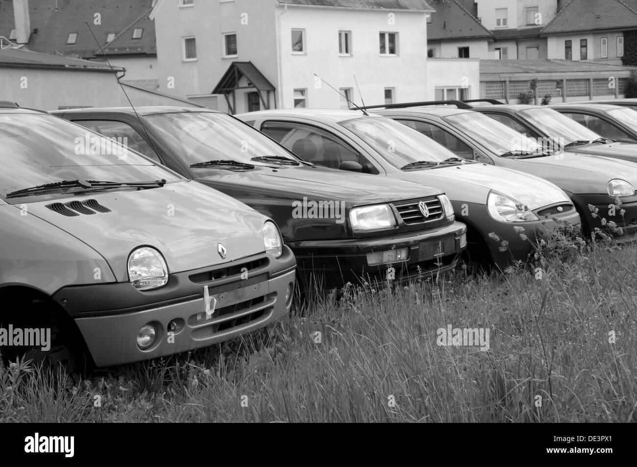 Scrapyard in Germany - Stock Image