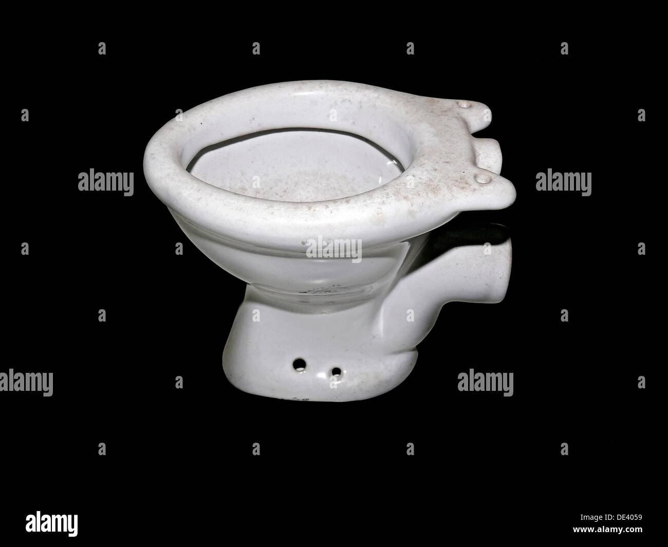 Model of a toilet bowl stock photo: 60324245 alamy