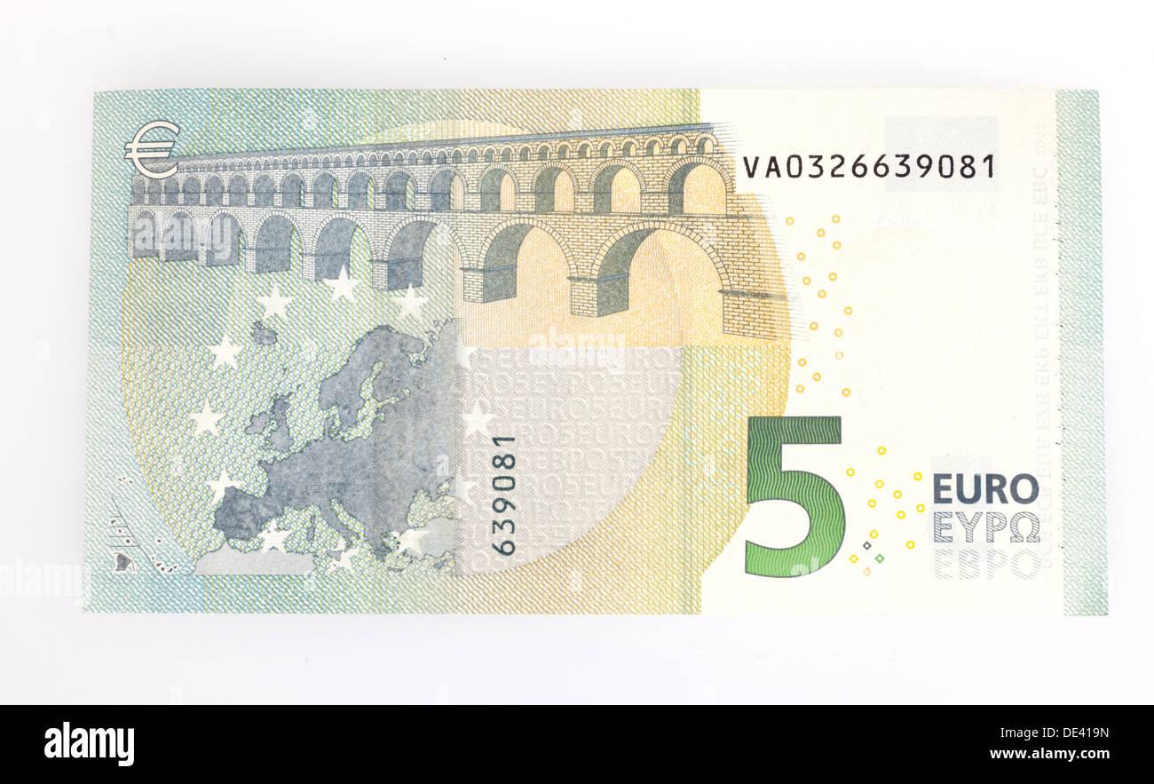 Berlin Germany 5 Euro Bill
