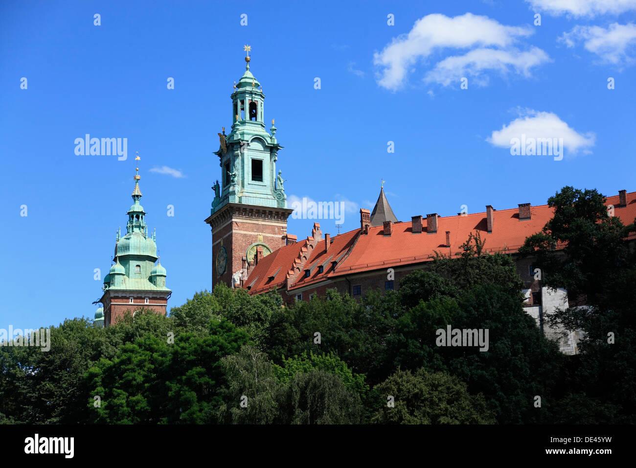 Wisla Krakow: Krakow Wawel Castle Stock Photos & Krakow Wawel Castle