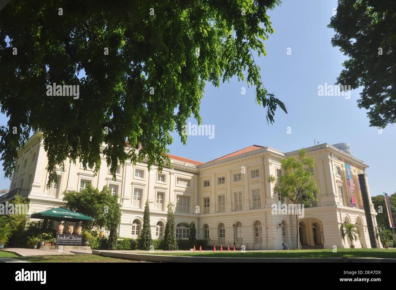 Singapore: the Asian Civilisations Museum - Stock Image