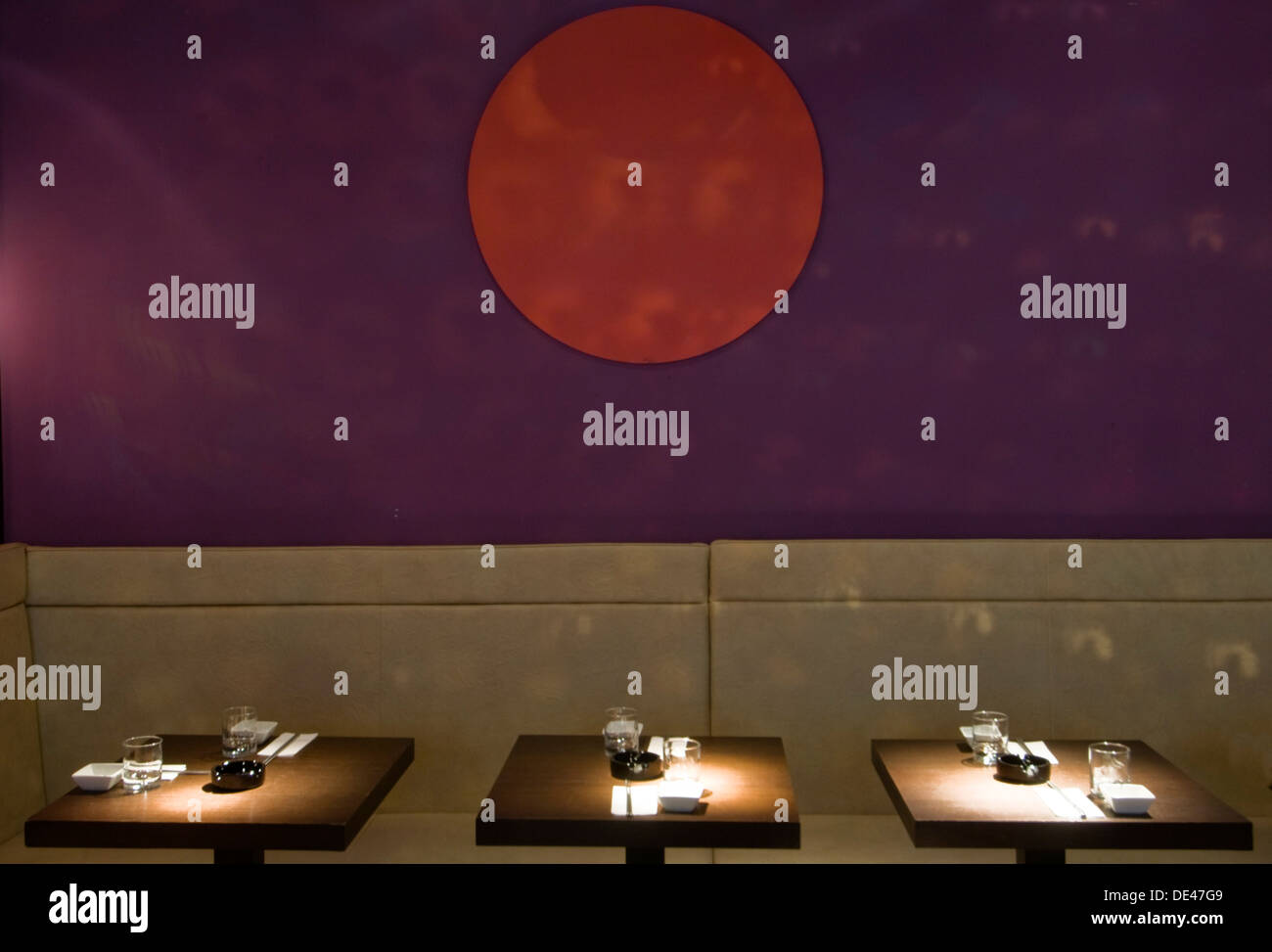 Österreich, Wien 6, Mariahilfer Straße 103, Dots - Experimental Sushi - Stock Image