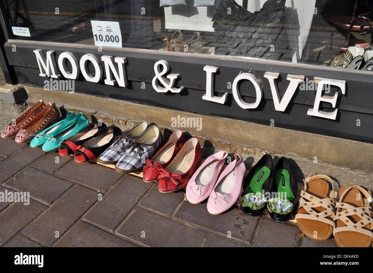 Seoul (South Korea): trendy shoes shop