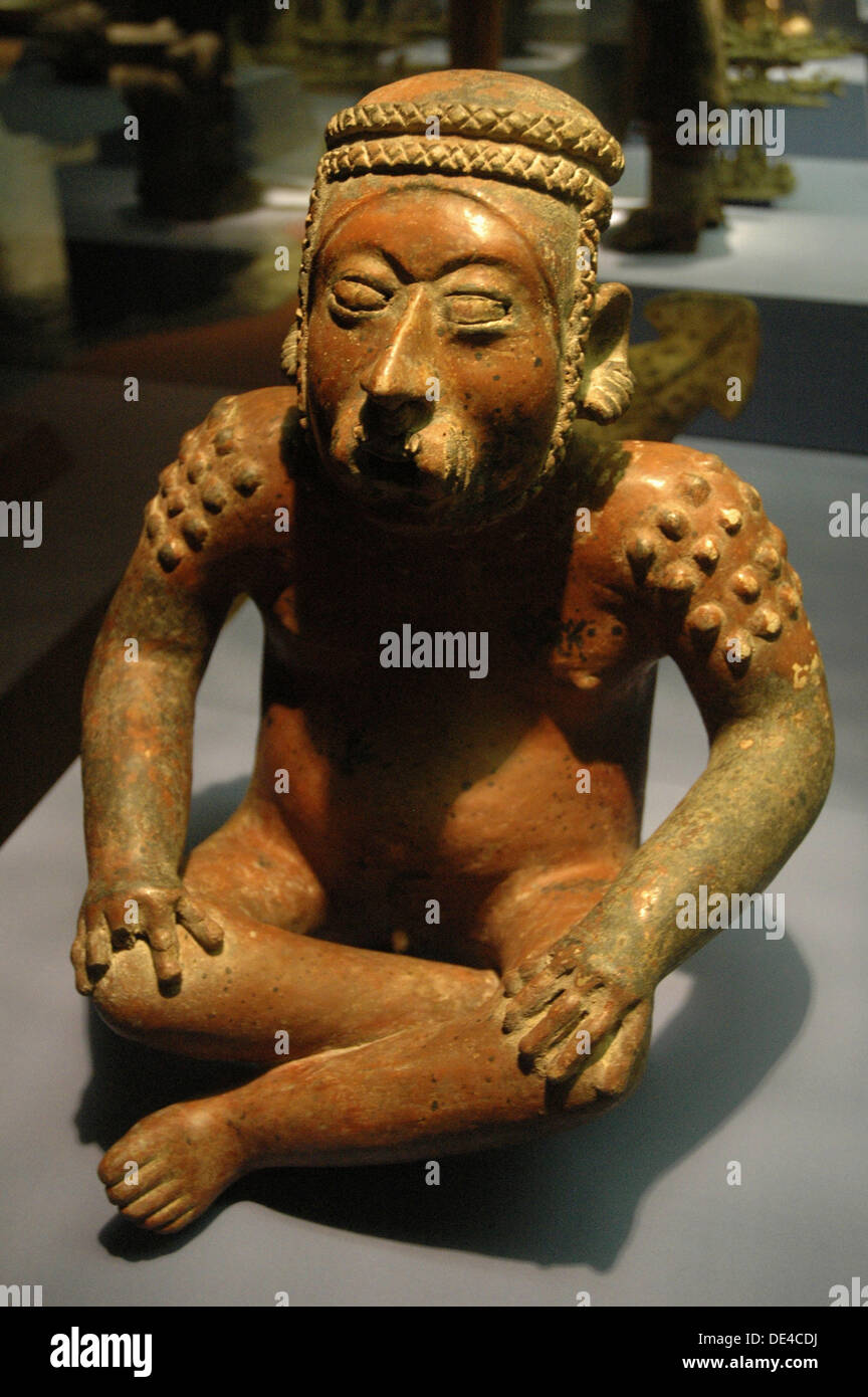 Mexican pre-Colombian statue - Stock Image