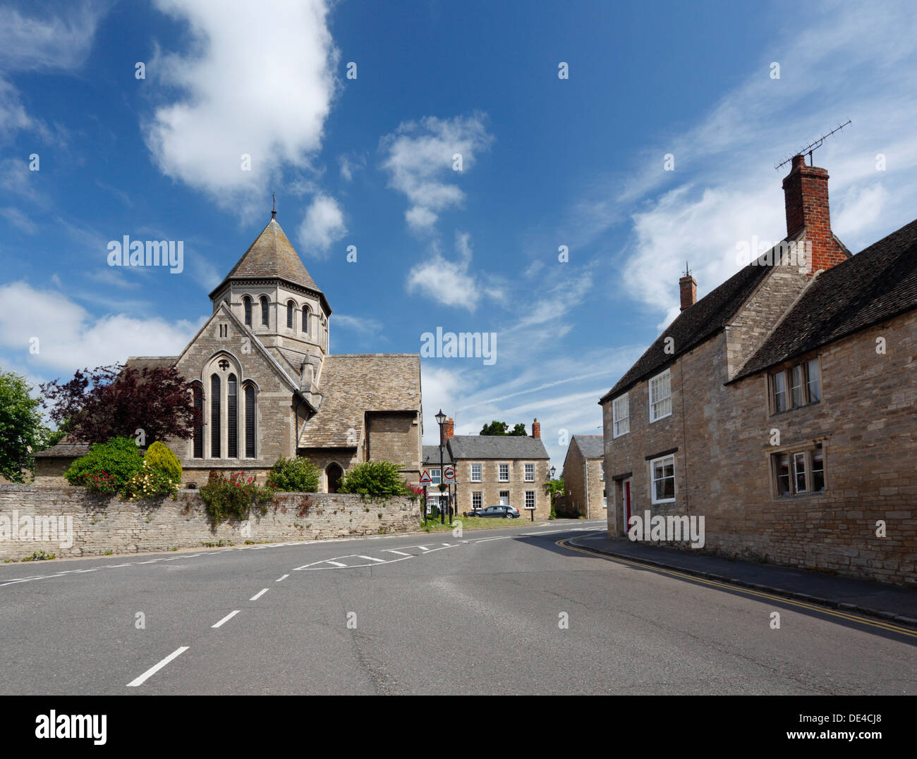 Oundle. Church of the Most Holy Name. Northamptonshire. England. UK. - Stock Image