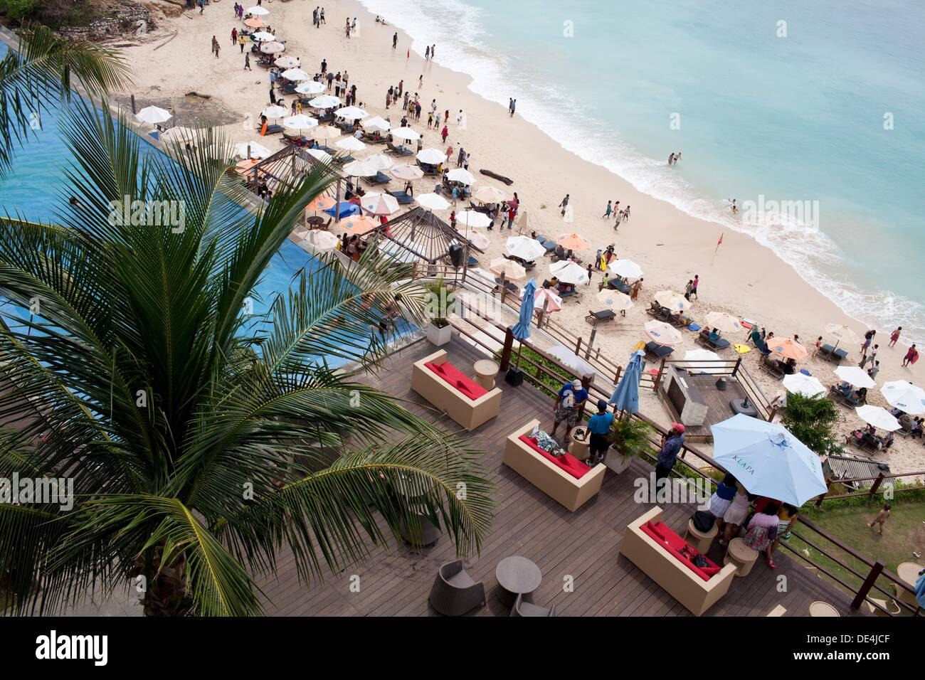 Pecatu Indah Resort Klapa Hotel Bali Stock Photo 60338559 Alamy