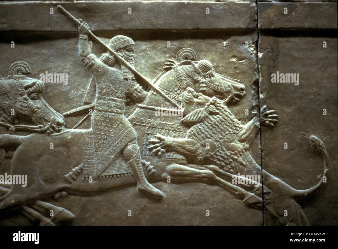 Image result for assyrian king art
