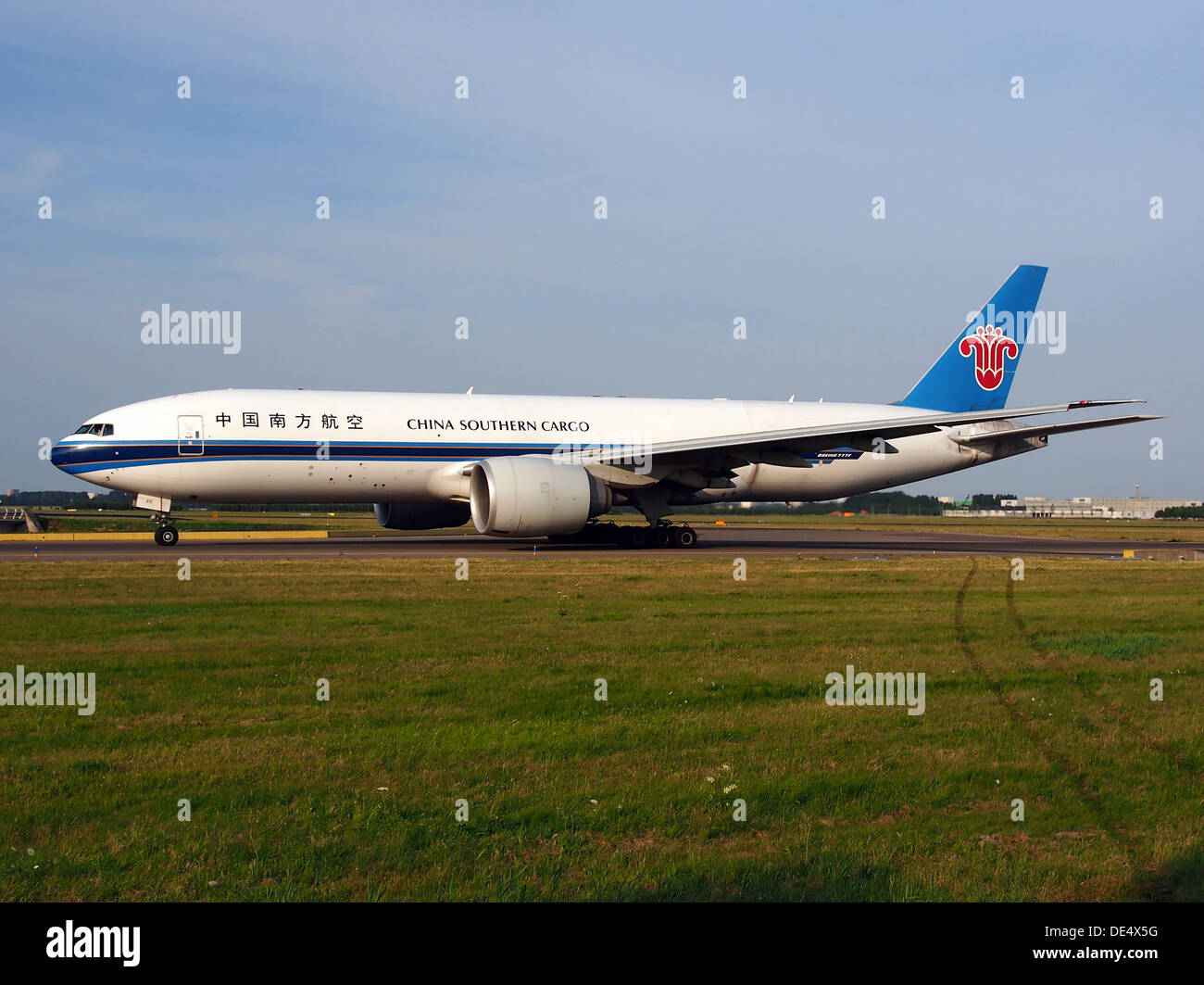 B-2071 China Southern Airlines Boeing 777-F1B - cn 37309, taxiing 22july2013 -007 - Stock Image