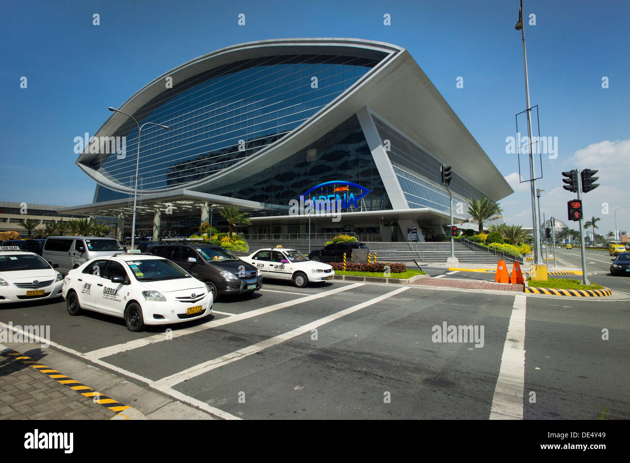 Mall of Asia Arena concert and sports arena, Pasay City, Manila, Philippines, Asia, PublicGround - Stock Image