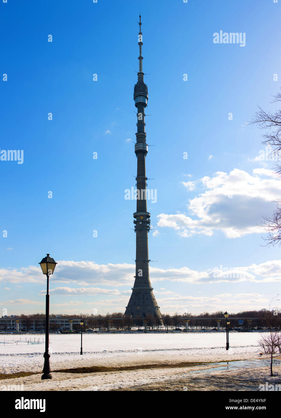 Ostankino Tele Tower - Stock Image