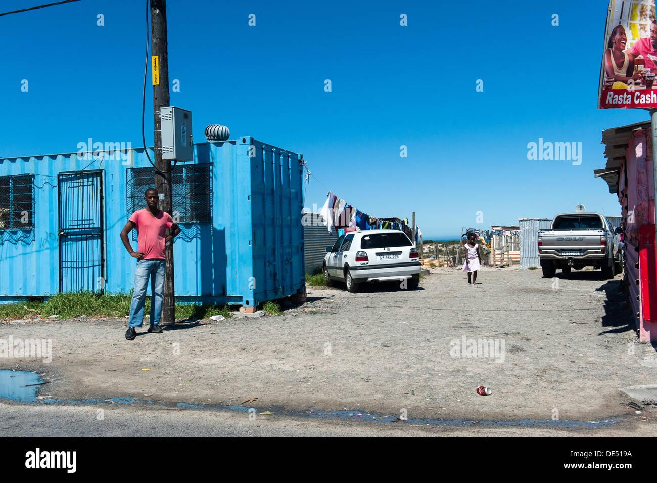 Khayelitsha, Cape Town, Western Cape, South Africa - Stock Image