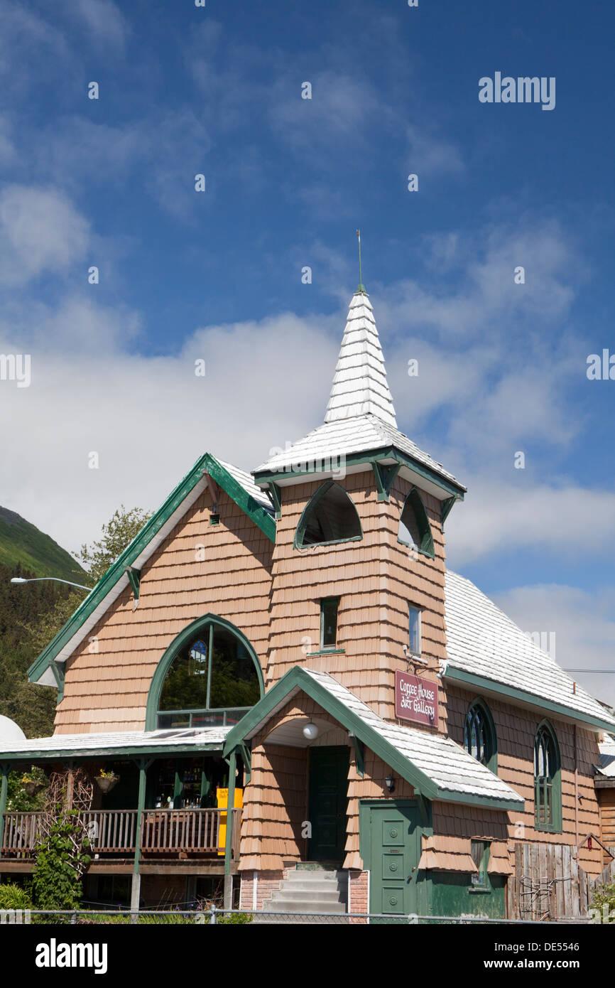 Seward, Kenai Peninsula, Alaska, U.S.A. - Stock Image